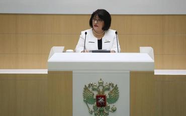 Sahibə Qafarova Rusiya Federal Məclisinin Federasiya Şurasında çıxış edib