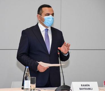 """Ramin Bayramlı: """"Ölkəmizdə koronavirusla mübarizəyə dair effektiv tədbirlər öz nəticəsini verib"""""""