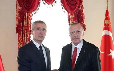 Türkiyə Prezidenti NATO-nun Baş katibi ilə telefonla danışıb