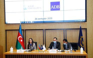 Asiya İnkişaf Bankı İcbari Tibbi Sığorta üzrə Dövlət Agentliyi ilə birgə hesabat tədbiri keçirib