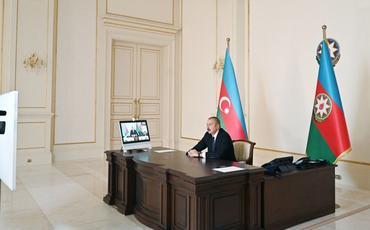 Prezident İlham Əliyev: Ermənistanın Azərbaycana qarşı davam edən işğalçılıq siyasəti onun faşist mahiyyətini bütün dünyaya göstərir
