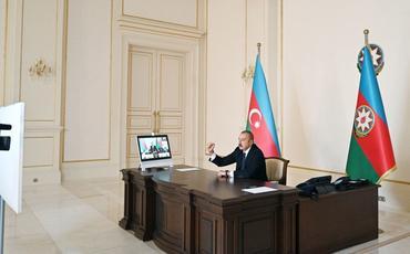 Prezident İlham Əliyev: Azərbaycan vətəndaşları cəsarət göstərirlər, hər kəs öz yerindədir, ordumuza hər an dəstək verməyə hazırdırlar