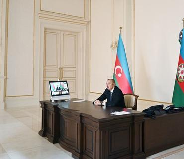 Prezident İlham Əliyev: Biz haqq yolundayıq, biz özümüzü müdafiə edirik, biz heç kimin torpağına göz dikməmişik