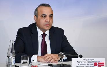 """Azay Quliyev: """"Ermənistan öz faşist mahiyyətinə uyğun olaraq, dinc əhalini hədəfə alır"""""""