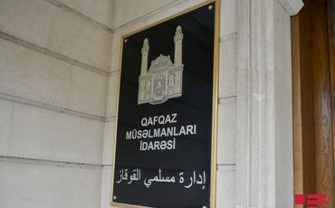 QMİ sədri Azərbaycan xalqına müraciət edib