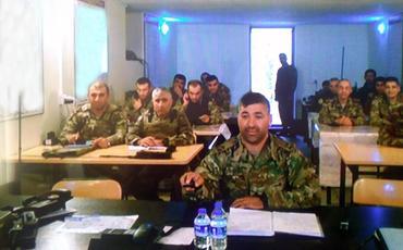 """General-mayor Mayis Bərxudarov: """"Düşməni sona qədər məhv etmək uğrunda vuruşacağıq"""""""