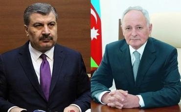 Oqtay Şirəliyev türkiyəli həmkarı ilə telefonla danışıb