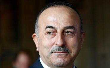 Cavuşoğlu Xəzər İbrahimi Ankaradakı iqamətgahında ziyarət edib