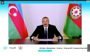 """Prezident İlham Əliyev: """"Son 17 ildə Azərbaycanın iqtisadiyyatına 260 milyard dollardan çox sərmayə yatırılıb"""""""