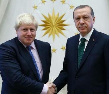 Türkiyə Prezidenti Britaniyanın Baş naziri ilə Dağlıq Qarabağdakı son vəziyyətdən danışıblar
