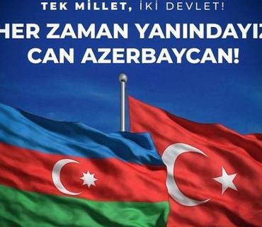 """Türkiyə klubları Azərbaycana dəstək mesajlarını davam etdirir: """"Acımız, davamız, sevdamız birdir"""""""