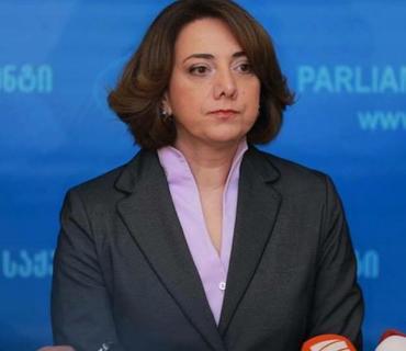 """Salome Samadaşvili: """"Dağlıq Qarabağ məsələsində mövqeyimiz ərazi bütövlüyü prinsipinə əsaslanır"""""""