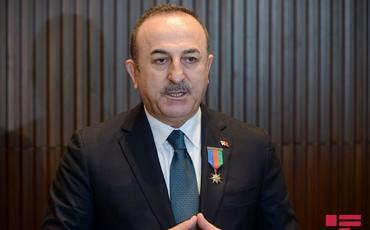 """Çavuşoğlu: """"Atəşkəs çağırışı edənlər Ermənistana işğal etdiyi torpaqlardan çıx demir"""""""