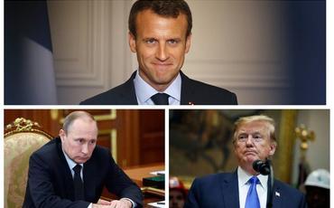 Makron Dağlıq Qarabağda hərbi əməliyyatlarla bağlı Putin və Trampla danışıqlar aparmağı planlaşdırır