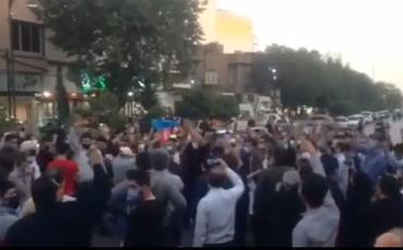 Tehran sakinləri Azərbaycan Ordusuna dəstək aksiyası keçiriblər