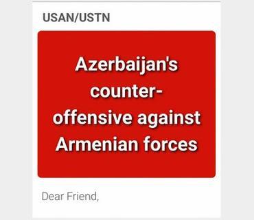 Amerika Azərbaycanlıları Şəbəkəsi Ermənistanın təxribatlarına etiraz olaraq məktub kampaniyasına başlayıb
