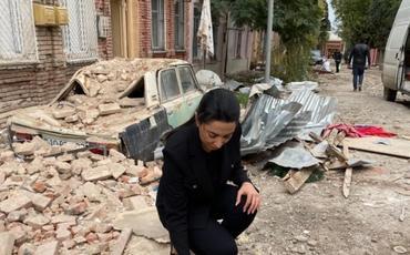 Ombudsman Ermənistan silahlı qüvvələrinin ağır artilleriya atəşinə tutduğu Gəncədə faktaraşdırıcı missiya həyata keçirib