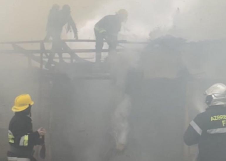 FHN: Erməni təxribatı nəticəsində mülki obyektlərdə yanğınlar baş verib