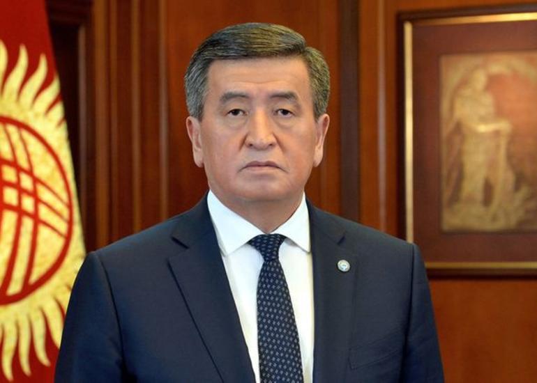 Qırğız Respublikasının Prezidenti istefa verib