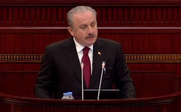 """Mustafa Şentop: """"Türkiyə və Azərbaycan dünyanın can damarını əlində tutmaqdadır"""""""
