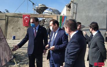 Türk Şurasının Baş katibi Gəncəyə səfər edib