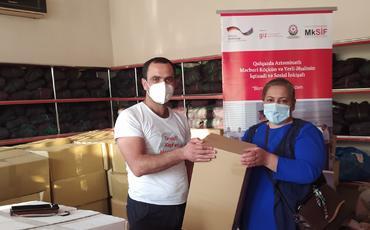 Koronavirus (COVID-19) pandemiyası ilə mübarizə çərçivəsində məcburi köçkünlərə yardım göstərilib