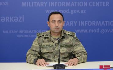 Müdafiə Nazirliyi: Azərbaycan Ordusu qələbə əzmi ilə döyüşləri davam etdirir