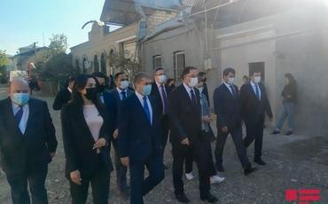 Türkiyənin Baş Ombudsmanı Gəncəyə gedib