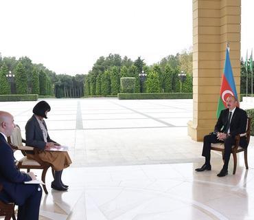 """Prezident İlham Əliyev: """"Mehriban Əliyevaya bu vəzifəni təklif etdikdə, o, bunu o qədər də sevinclə qarşılamadı"""""""