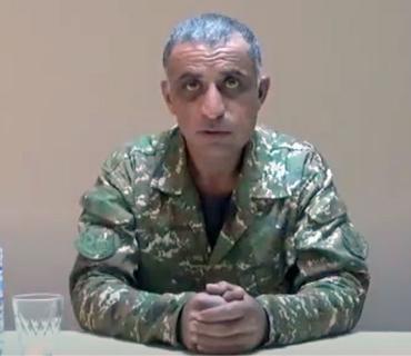 """Ordumuza təslim olan mayor erməni xalqına müraciət edib: """"Uşaqlarımızı Azərbaycan ərazisində döyüşməyə buraxmayın"""""""