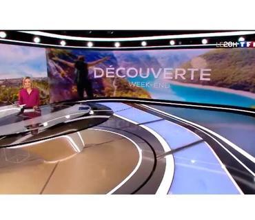 Fransanın TF1 kanalı cəbhədən reportaj hazırlayıb