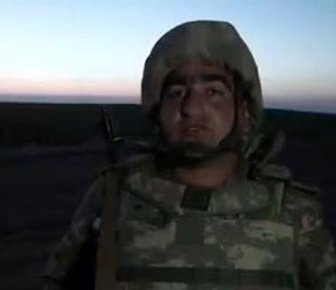 """Azərbaycan hərbçiləri: """"İşğal olunmuş bütün torpaqlarımızda üçrəngli bayrağımız dalğalanacaq"""""""