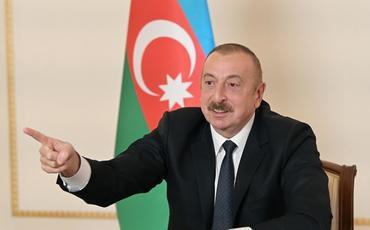 """Azərbaycan Prezidenti: """"Bizə qarşı kənardan aqressiya olarsa, onlar o F-16-ları görəcəklər"""""""