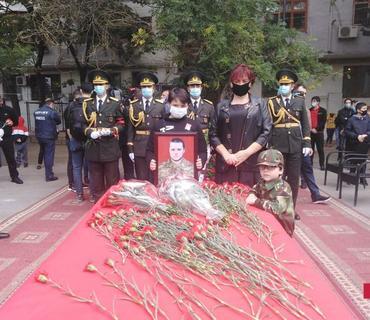 Azərbaycan Ordusunun şəhid hərbçisi Dmitri Sonsevlə vida mərasimi keçirilir