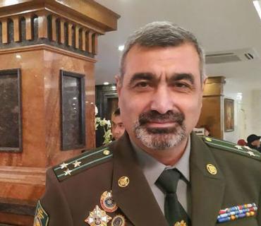 Ermənistan Sərhəd Qoşunlarının komandanı işdən çıxarılıb