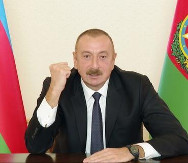 """Azərbaycan Prezidenti: """"Atəşkəsi istəyən niyə Ermənistana silah göndərir?"""""""