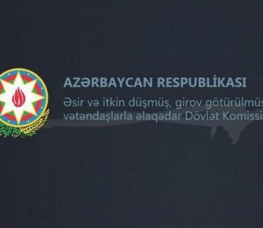Komissiya: Ermənistan Azərbaycanın əsirlərin azad edilməsi, meyitlərin qaytarılması təkliflərinə cavab vermir