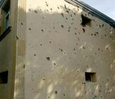 Ermənistan Silahlı Qüvvələri Ağdamda məktəb binasını atəşə tutub