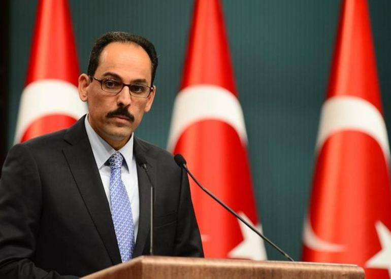 """İbrahim Kalın: """"Qarabağ gec-tez azad olacaq"""""""