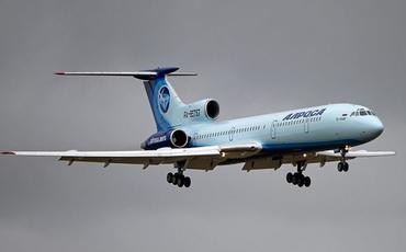 """""""Tu-154"""" təyyarəsi son uçuşunu yerinə yetirib"""