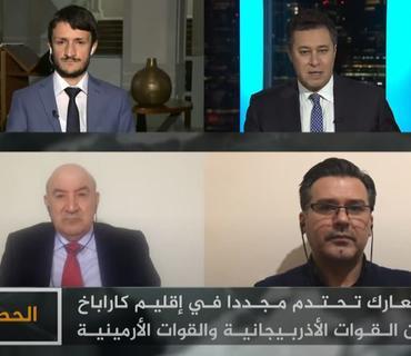 """Ermənistan sülh istəmir - Rufiz Hafizoğlu """"Əl-Cəzirə"""" telekanalına açıqlama verib"""