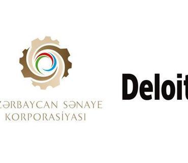 """""""Azərbaycan Sənaye Korporasiyası"""" ASC və """"Deloitte & Touche"""" Məhdud Məsuliyyətli Auditor Cəmiyyəti arasında müqavilə imzalanıb"""