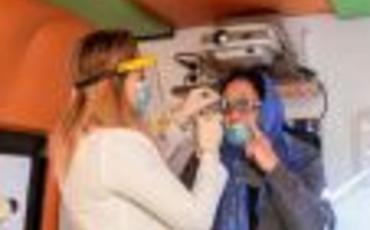 Azercell-in Mobil Göz Klinikası BMT-nin təşəbbüsü ilə məcburi köçkünlər üçün aksiyada iştirak edib
