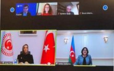 Sahibə Qafarova TBMM və AŞPA-nın təşəbbüsü ilə keçirilən beynəlxalq konfransa qatılıb