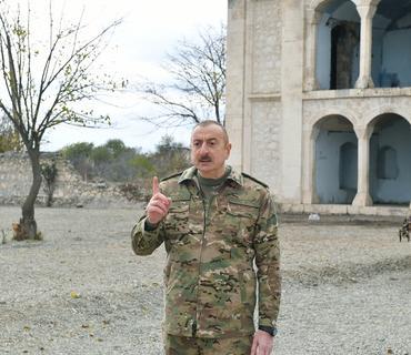 Azərbaycan Prezidenti: Paşinyan bütün müxalifəti tutdurur, qərb də susur, ağzına su alıb