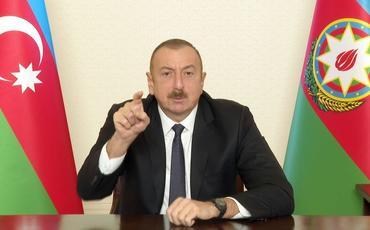 Prezident İlham Əliyev: Bizi nədəsə ittiham etmək istəyən getsin, ilk növbədə, güzgüyə baxsın