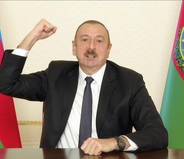 Prezident İlham Əliyev: Paşinyan, harada imzalamısan sən bu kapitulyasiya aktını?