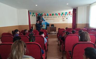 Milli Preventiv Qrupunun üzvləri uşaq evlərinə başçəkmələr həyata keçirib