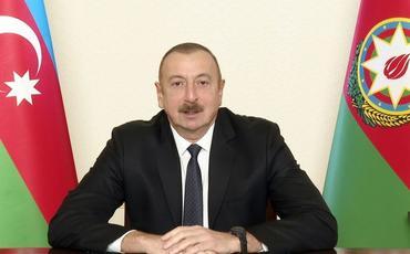 """Azərbaycan Prezidenti: """"Bəyanatın ilkin versiyasında bizə təklif edilirdi ki, Laçın dəhlizinin eni 30 kilometr olsun"""""""