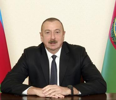 """Azərbaycan dövlət başçısı: """"Artıq müharibə arxada qaldı"""""""